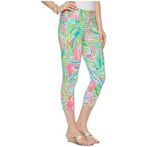 NWT LILLY PULITZER WEEKENDER CROP LEGGINGS